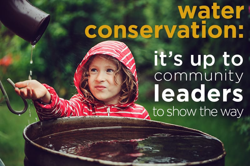 Water conservation is an important aspect of all communities.