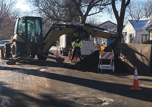 A Minneapolis homeowner was shocked to find she was responsible for her water service line repair.